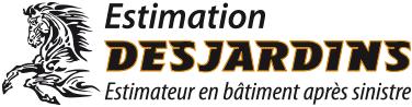 Logo d'Estimation Desjardins - Estimateur en bâtiment après sinistre